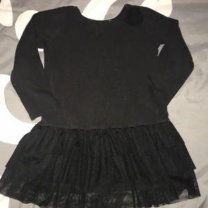 Size 3T black dress by Lands End